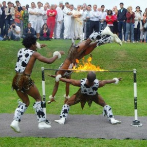 African Acrobats Image 1