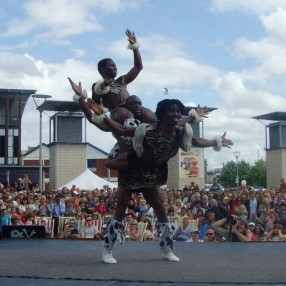African Acrobats Image 2