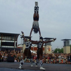African Acrobats Image 3