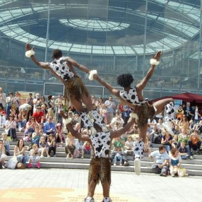 African Acrobats Image 6