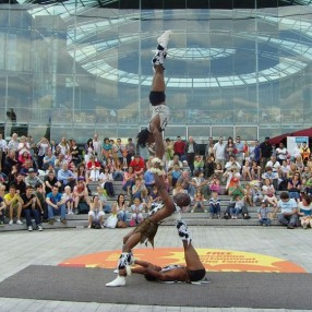 African Acrobats Image 7