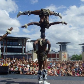 African Acrobats Image 9