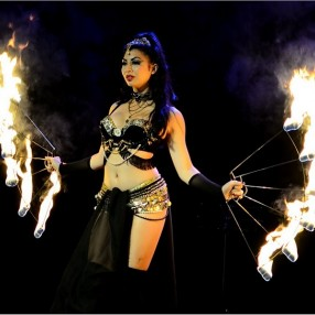 Fire Dancers Image 1